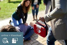 Cursus Reanimatie en AED [online + klassikaal]