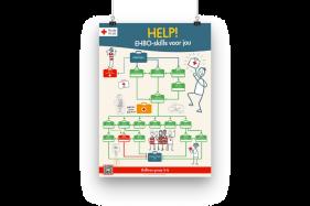 Help! EHBO-skills voor jou - Klassenposter (A2) | Groep 5 en 6