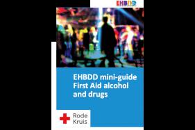 Mini-gids EHBDD Eerste hulp bij drank en drugs [Engels]