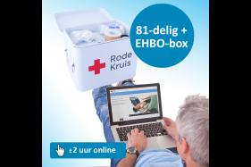 EHBO-set 'In en om het huis' + e-learning 'Reanimatie en AED'